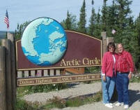 Have your picture taken at the Arctic Circle!