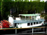 Thumbnail of the original Riverboat Discovery paddlewheel boat.