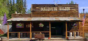 Malemute Saloon in Ester Gold Camp